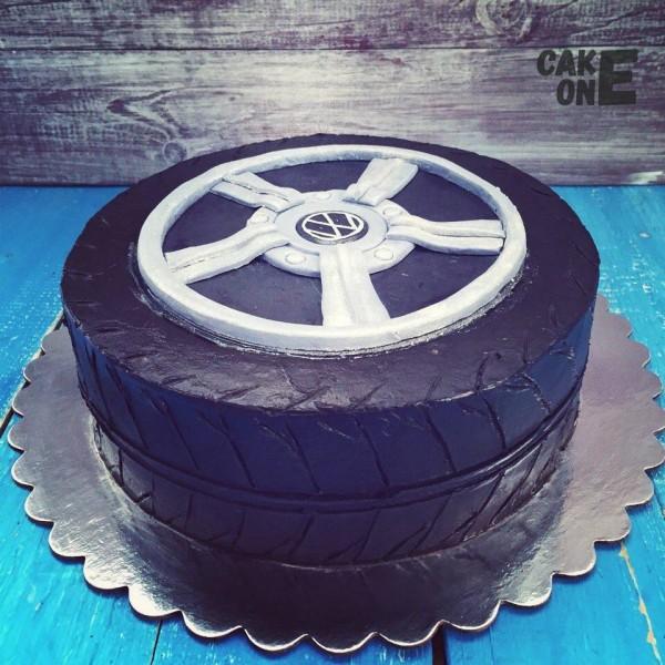 "Торт ""Колесо ""Volkswagen"""