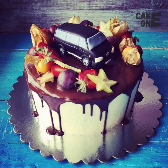 "Торт ""Транспортер ""Volkswagen"""