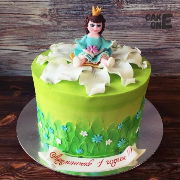 Торт с Дюймоочкой