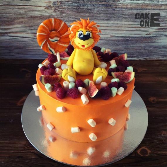 Торт с Львенком и леденцом