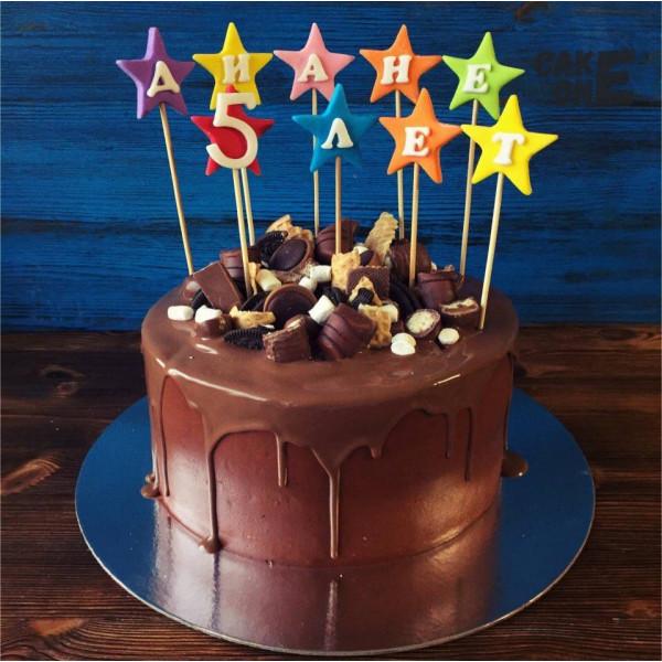Шоколадный торт на 5 лет