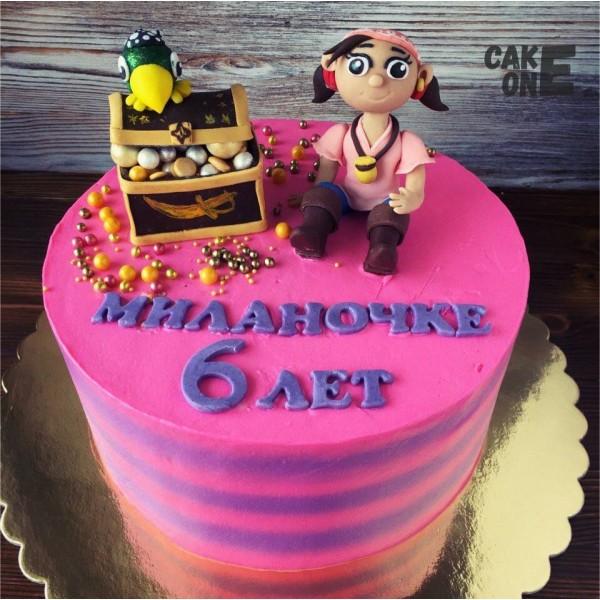 """Торт с """"Пират Иззи"""""""