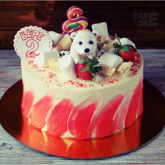 Торт на 2 года с Умкой