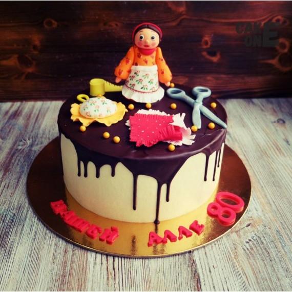 Торт на юбилей швее