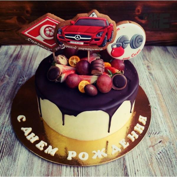 Торт для инструктора по вождению