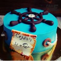Торт со штурвалом