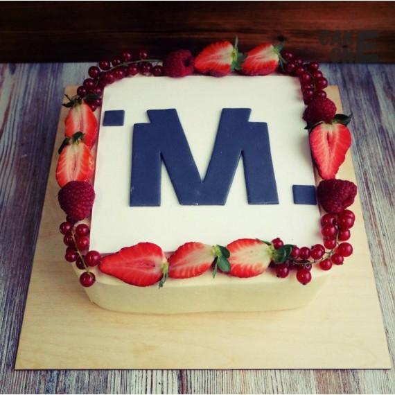 Торт с эмблемой