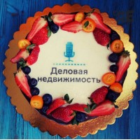 """Торт для """"Деловая недвижимость"""""""