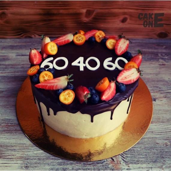 Торт с цифрами