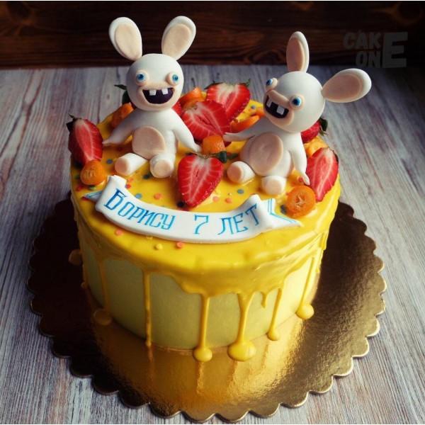 """Торт """"Бешеные кролики"""""""