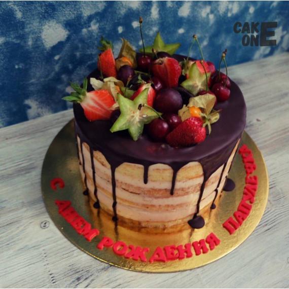 Бисквитный торт для папы