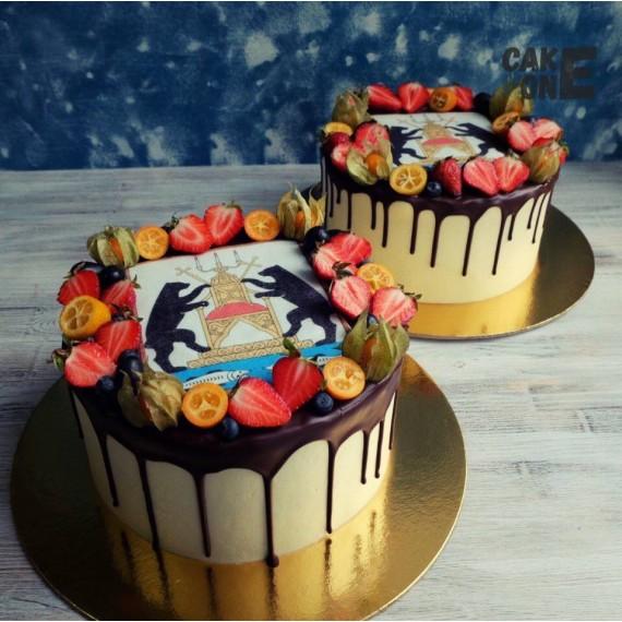 Торт с гербом