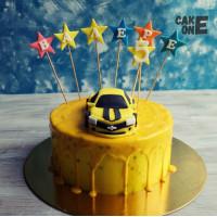 Желтый торт с Бамбл Би