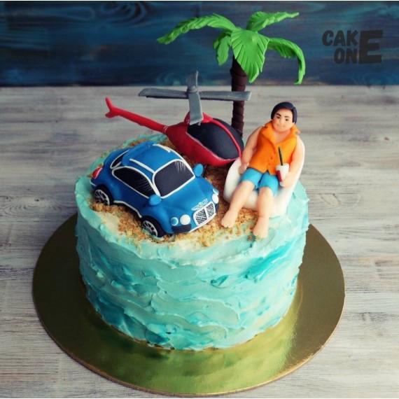 """Торт """"Необитаемый остров"""""""