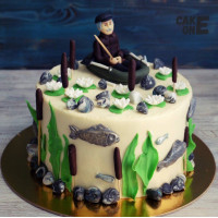 Торт для настоящего рыбака