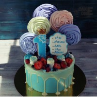 Торт-метрика с большим зефиром