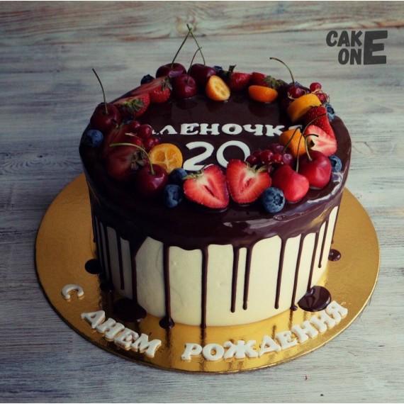 Именной торт на 20 лет