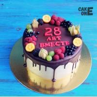 "Торт ""28 лет вместе"""