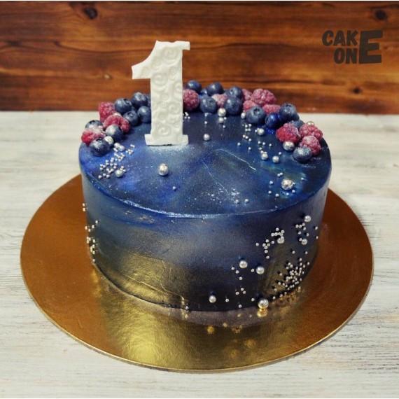 Черный торт на 1 год