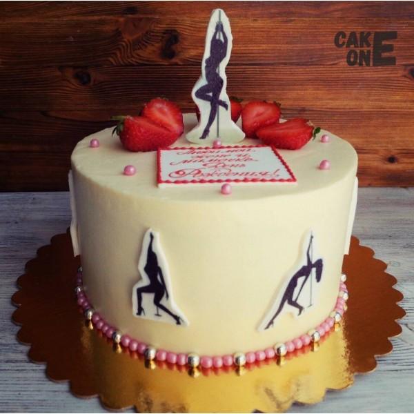 Торт с танцовщицами
