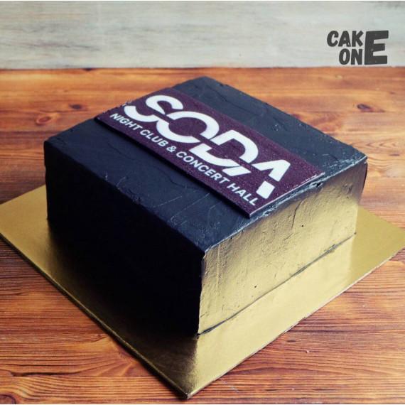 """Торт для клуба """"SODA"""""""