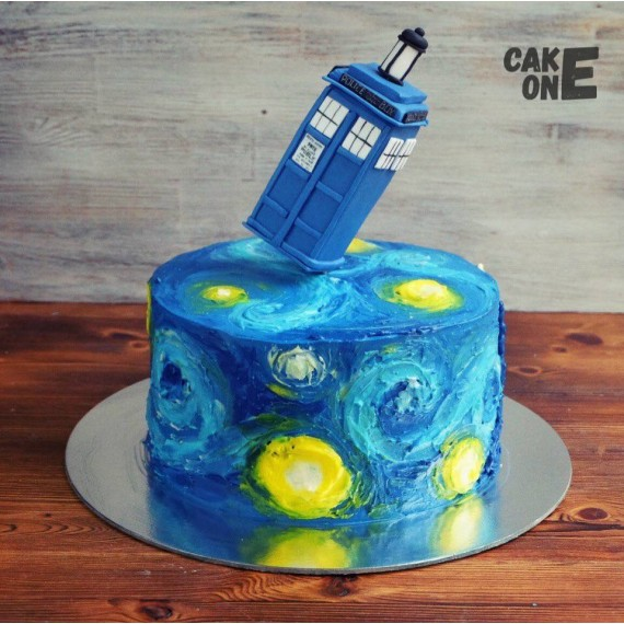 """Торт """"Доктор Кто"""""""