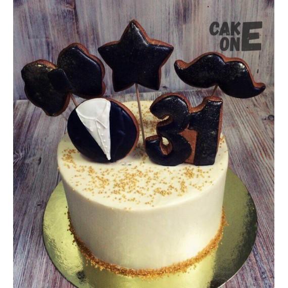Торт с пряниками на 31 год