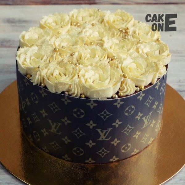 "Торт ""Коробка с цветами"""